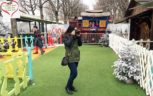 Kerstmarkt Champs-Elysees