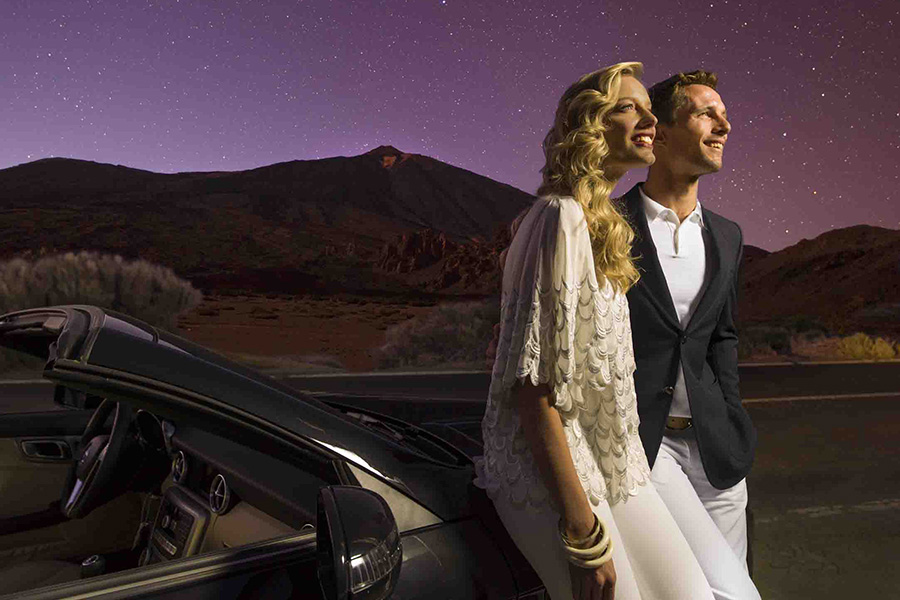 GOED - Observaci¢n de estrellas en el Teide, Tenerife