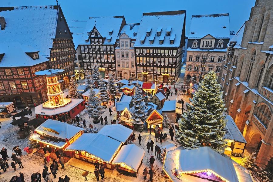 kerstmarkten in Nedersaksen