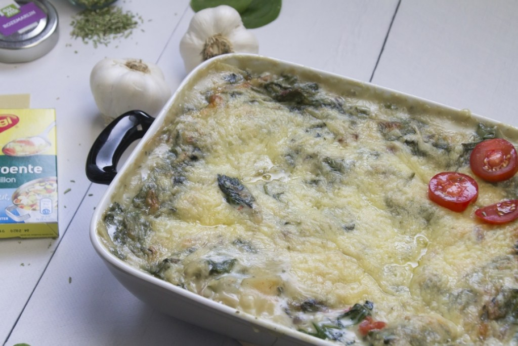 snelle lasagne met zalm