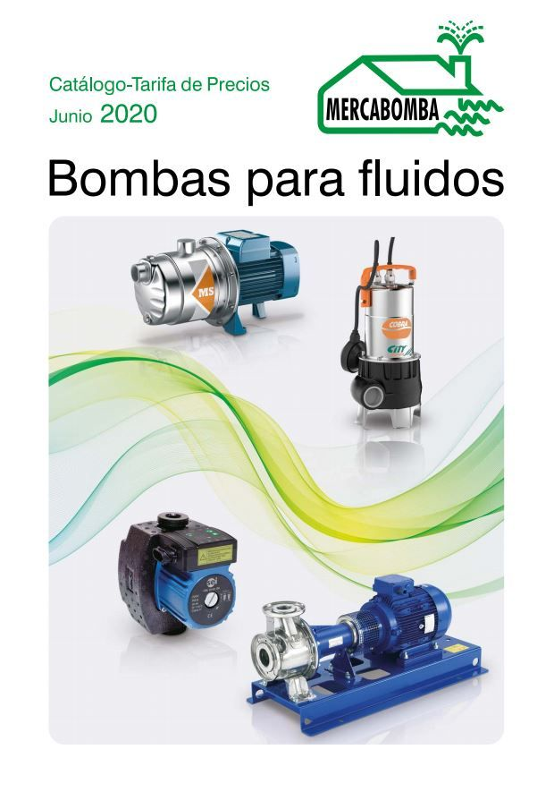 Imagen de portada para el Catálogo de Tarifas de Mercabomba para este año 2020