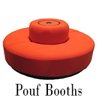 Pouf Booth Round Seating
