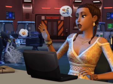 The Sims 4: StrangerVille Oyun içi görüntü