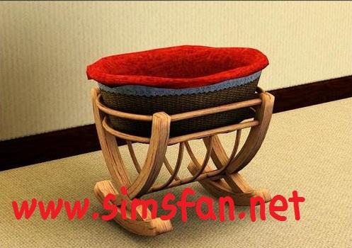 The Sims 3 Bebek Beşiği | Twygo Baby Crib