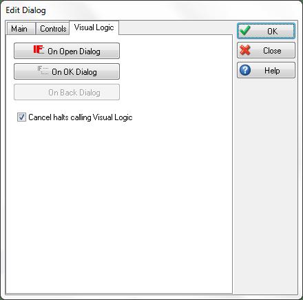 VL On Open Dialog