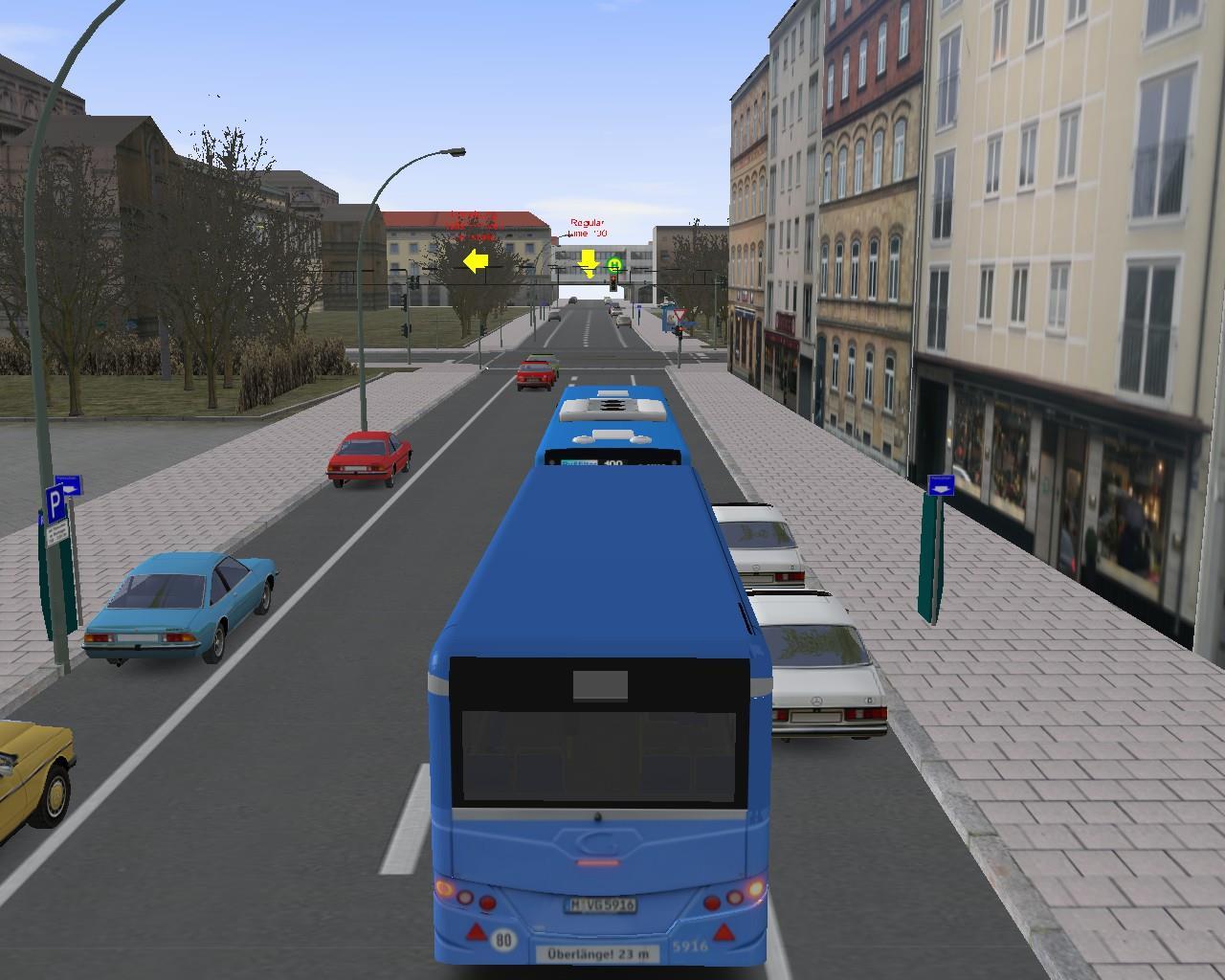 Omsi 2 Munchen Man Lions City Euro 6 Buszug 3