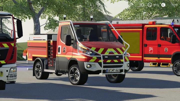Fs19 Iveco Daily Firefighter Kaltenkirchen V1