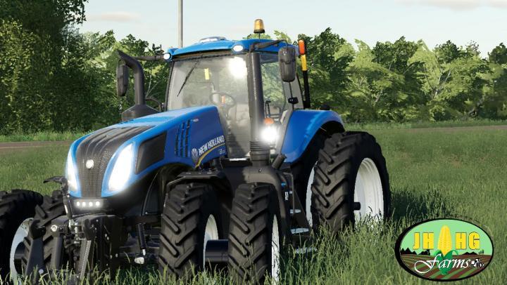 Fs19 New Holland T 8 Row Crop V1 Simulator Games Mods