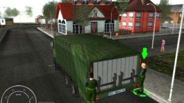 simulazione guida camion rifiuti