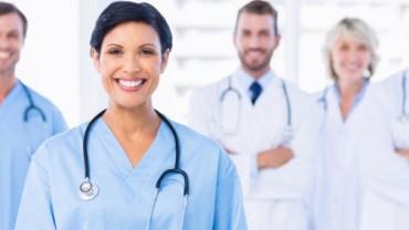 Giovani lavoratori del settore delle professioni sanitarie