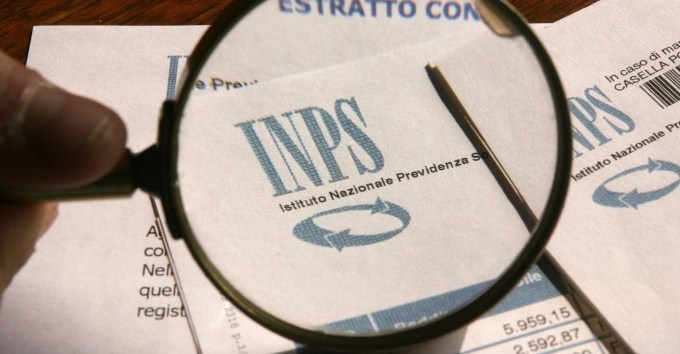 Un documento dell'Inps