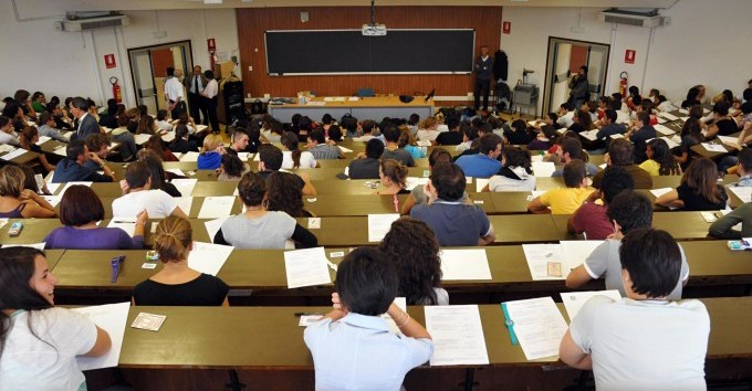 Candidati al test di ingresso in scienze politiche