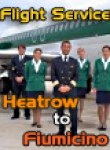 Flight Service - IFR Heatrow to Fiumicino
