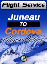 Flight Service AS187 - Juneau to Cordova