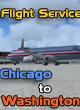 Flight Service - IFR Chicago to Washington