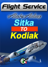 Flight Service AS391 - Sitka to Kodiak