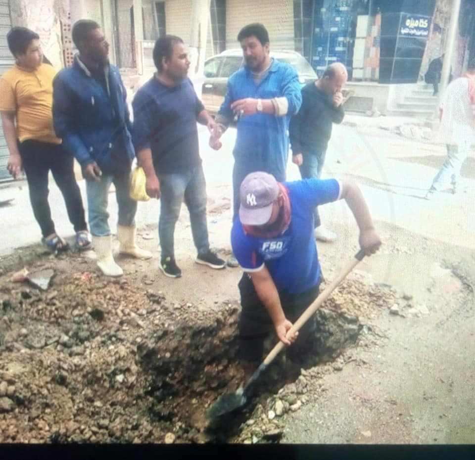 مجلس مدينة العريش يوجه عمليات شركة الصرف الصحي استجابة لمواطنين المدينة