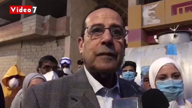 شاهد بالفيديو .. محافظ شمال سيناء : تعقيم كل شوارع العريش هذه الليلة