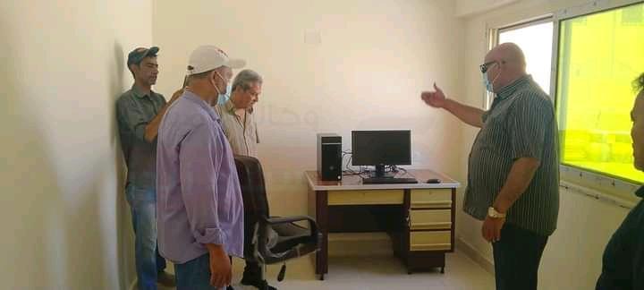 رئيس مدينة الحسنة: الانتهاء من تجهيز مبني المركز التكنولوجي بوسط سيناء