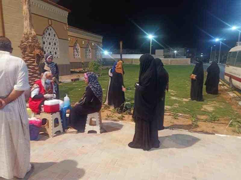 اقبال المواطنين على حملة الكشف عن الاعتلال الكلوي6 - وكالة سيناء نيوز