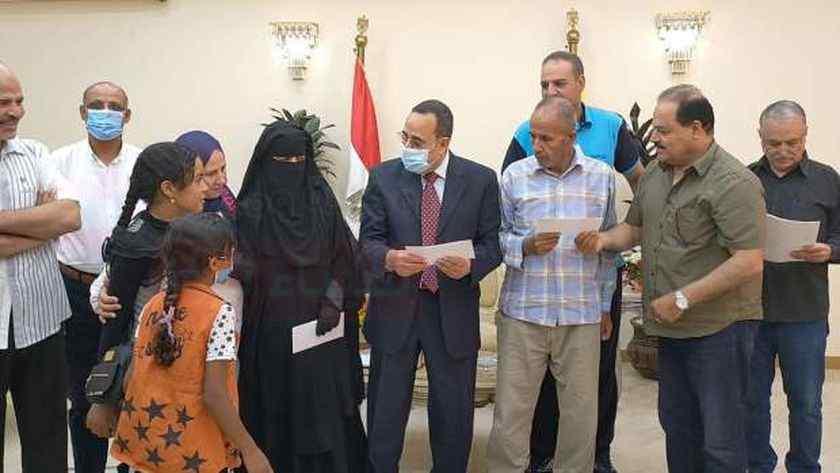 تغييرات بديوان عام محافظة شمال سيناء لتحديث وتيرة العمل