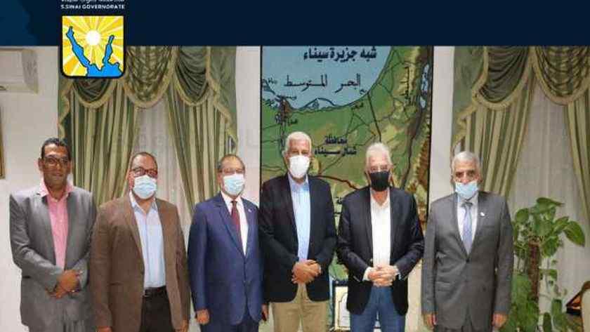 جنوب سيناء تتعاون مع «أكساد» لتحسين إنتاج الإبل ومنتجاتها الغذائية