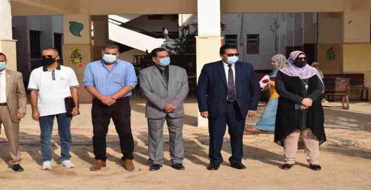 لجنة المتابعة بوزارة التربية والتعليم تباشر عملها بمدارس جنوب سيناء