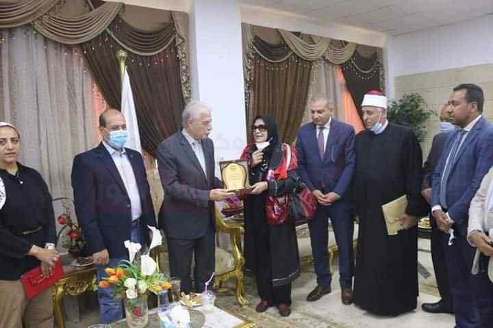 وفد الازهر في زيارة لمحافظة جنوب سيناء لدعم التعاون المشترك