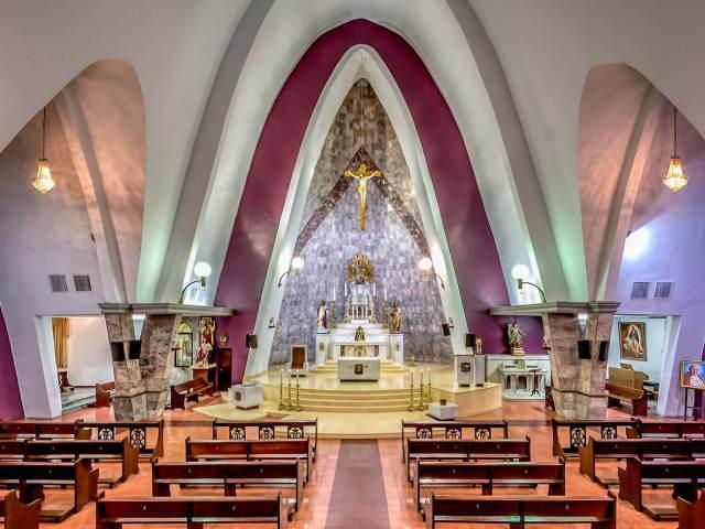 Altar de la Parroquia de Nuestra Señora del Carmen