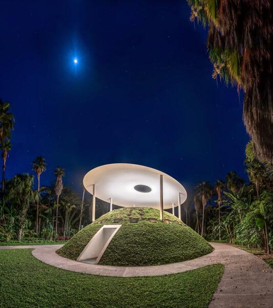 Encounter, obra de arte en el Jardín Botánico Culiacán