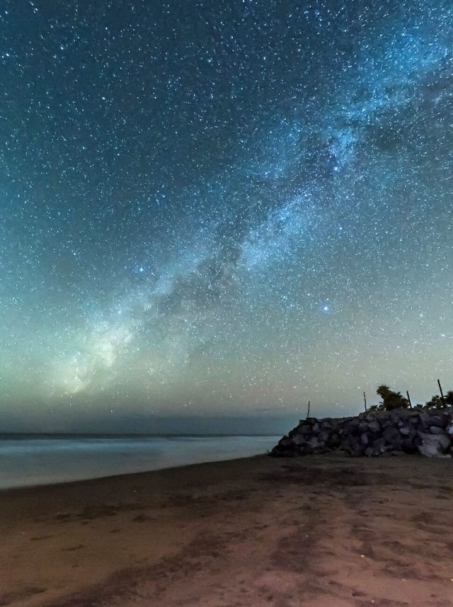 Milky Way in Isla Cortés