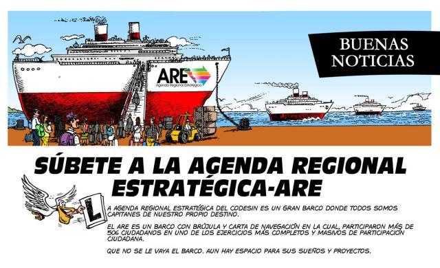 Súbete a la Agenda Regional Estratégica 1