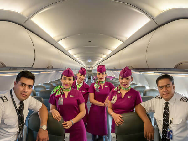 Volaris flight crew