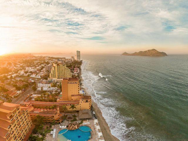 Zona Hotelera en Mazatlán