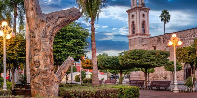 Plaza de Armas en El Fuerte, Sinaloa