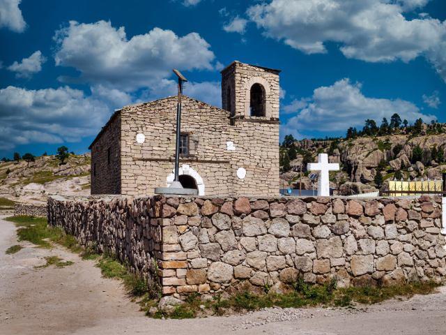 Iglesia Misión de San Ignacio de Loyola en la Sierra Tarahumara de Chihuahua