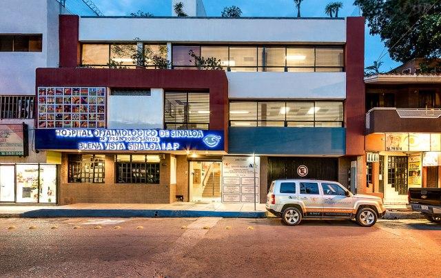 Fachada del edificio de Buena Vista Sinaloa