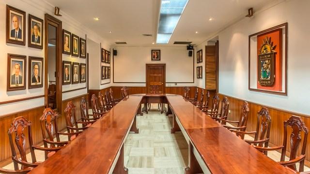 Salón de Cabildos en el Ayuntamiento de Culiacán