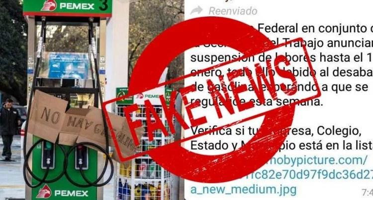 Resultado de imagen para fake news mexico gasolina