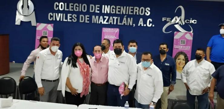 colegio ingenieros civiles Mazatlán