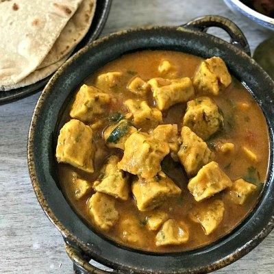 Gatte Ki Sabji – Rajasthani style Gram flour dumplings Curry