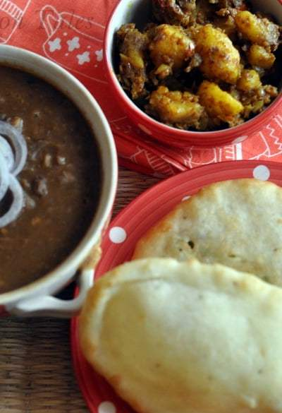 Chole Bhature : Spicy Chickpea Gravy Served With Fried Bread – A Match Made In Heaven