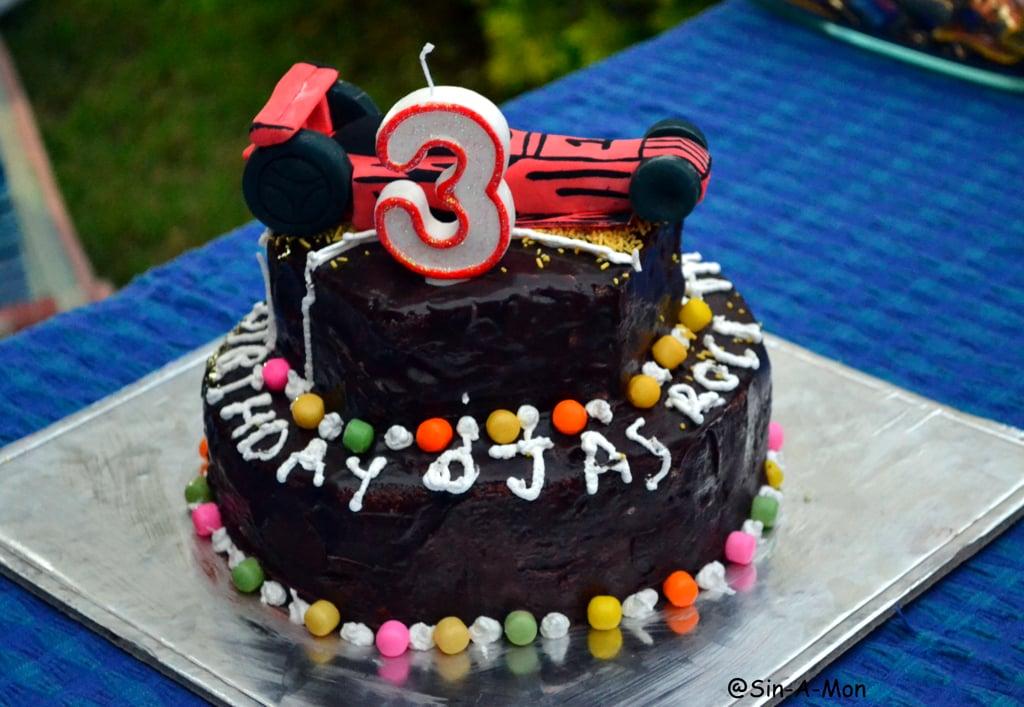 blueberry chocolate cake
