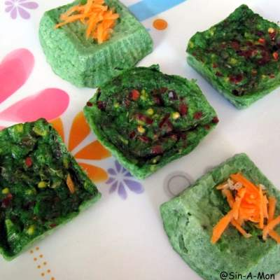Spinach Surprise : Step by Step Recipe