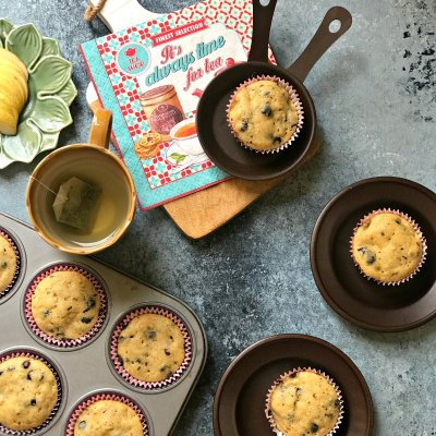 Pear and Choco Chip Muffins