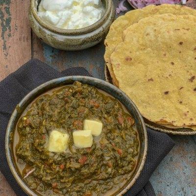 Sarsoon Ka Saag – Punjab Winter Special Dish