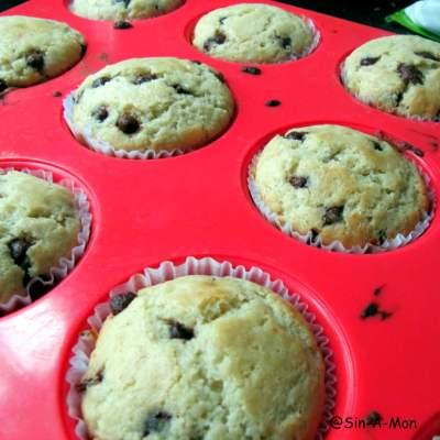 A Marathon Begins & Choco Chip Muffins