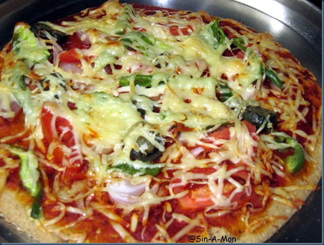 Junk food made healthy healthy pizza recipe sinamontales forumfinder Images