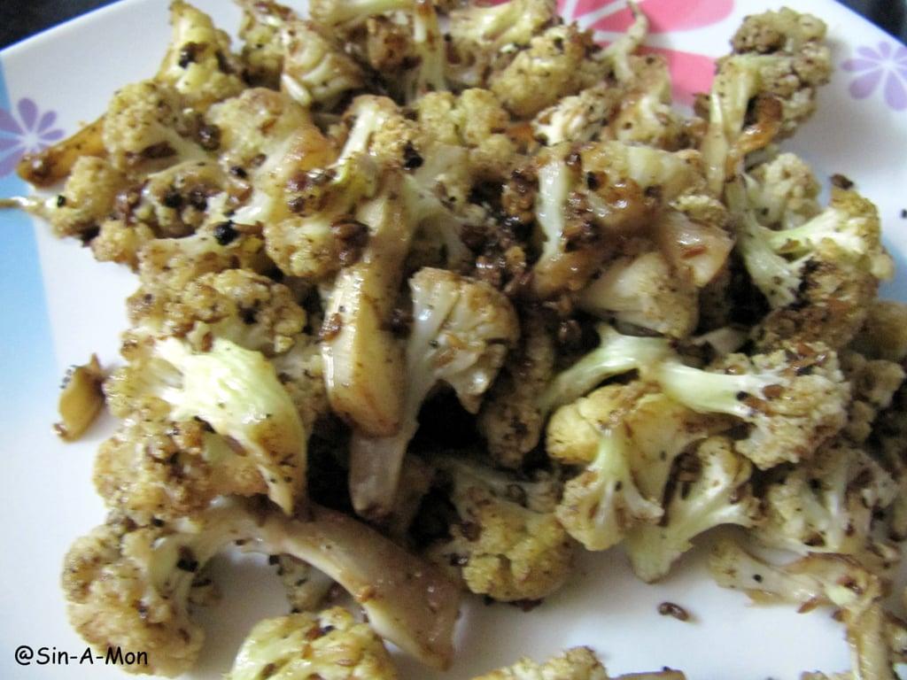 oven roasted gobhi