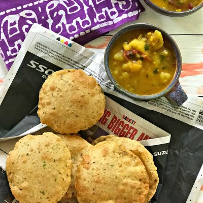 The Best Masala Poori Recipe